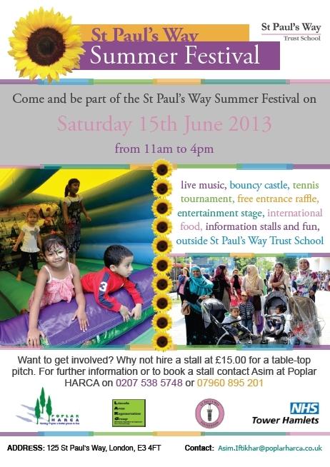 St Pauls Summer Fete 2013