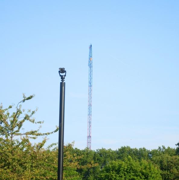 camera, CCTV, Crane